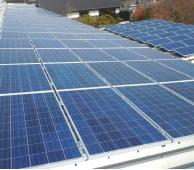 Industrial solar power generation
